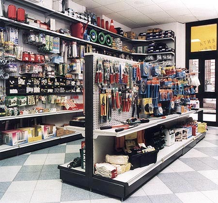 Allestimento negozi ferramenta